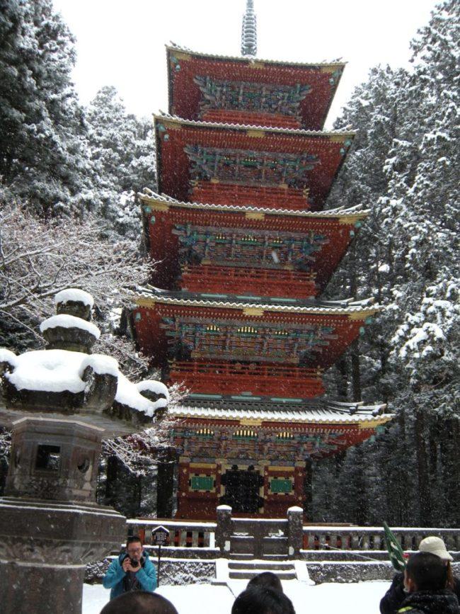 大学の研修旅行で行った江戸村で花魁の格好に
