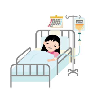 金欠時の急な入院でピンチ!