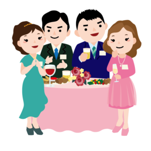 積極的に話した方が良い!30代前半初めての婚活パーティー