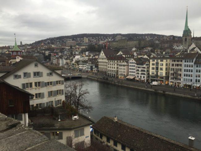 スイス チューリッヒの観光旅行