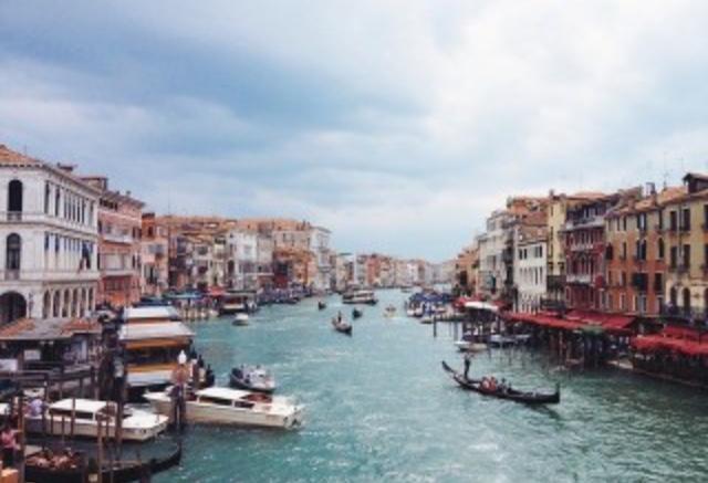 イタリアへの卒業旅行