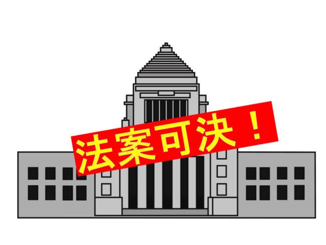 参議院の定数を増やす公職選挙法改正案が国会で成立