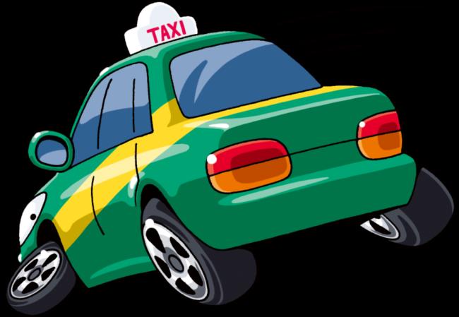 タクシー暴走