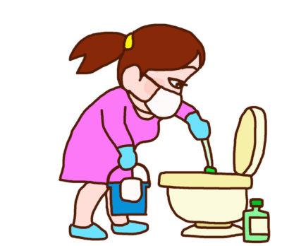 事業に失敗し駅のトイレを掃除する仕事に就いています。