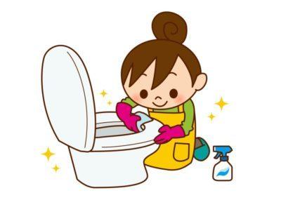 ミニマリストのトイレの掃除
