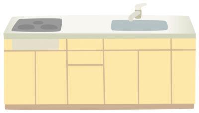 ミニマリストとしてキッチンを掃除しシンプルな生活を送っています。