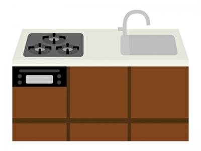 キッチンをミニマリストとして整理しました。
