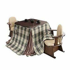 ミニマリストを目指す私は椅子タイプのこたつを愛用