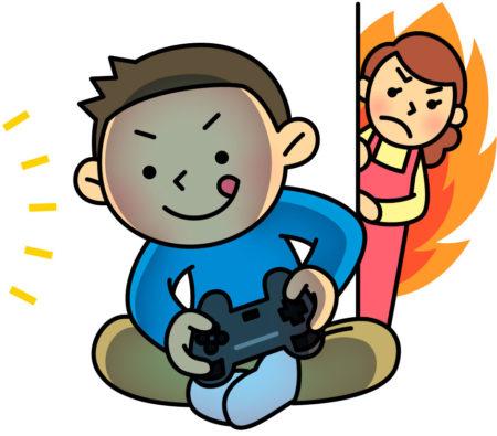 27才のニートの息子は1日、ゲームやSNSをやっています。