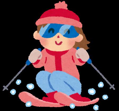 私がスキーで遭難したことにつきまして