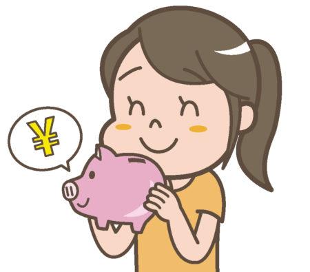 食費が家計を圧迫しているので、貯金箱に500円貯金始めました