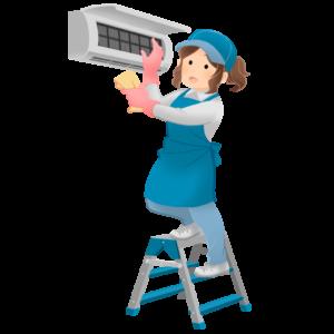 節約のために家電製品の掃除