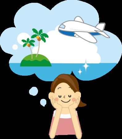 海外旅行が趣味だったはずのAさんが飛行機は乗れない?