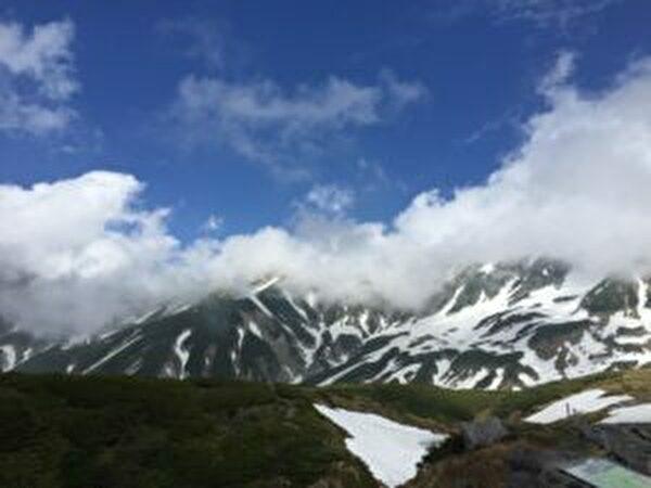 黒部ダムと立山に旅行に行ってきました。